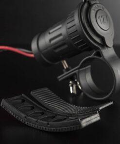 12v Cigarette Lighter Socket Handlebar Mount Closeup 4