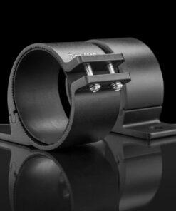 76mm to 81mm Tube Clamp Bull Bar Mounting Brackets Black