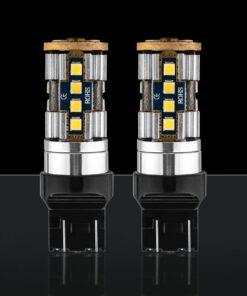 STEDI 2 Pack T20 7443 W215W Wedge LED Light Dual Filament Parker